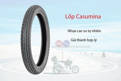 Giá lốp xe máy Casumina khá rẻ