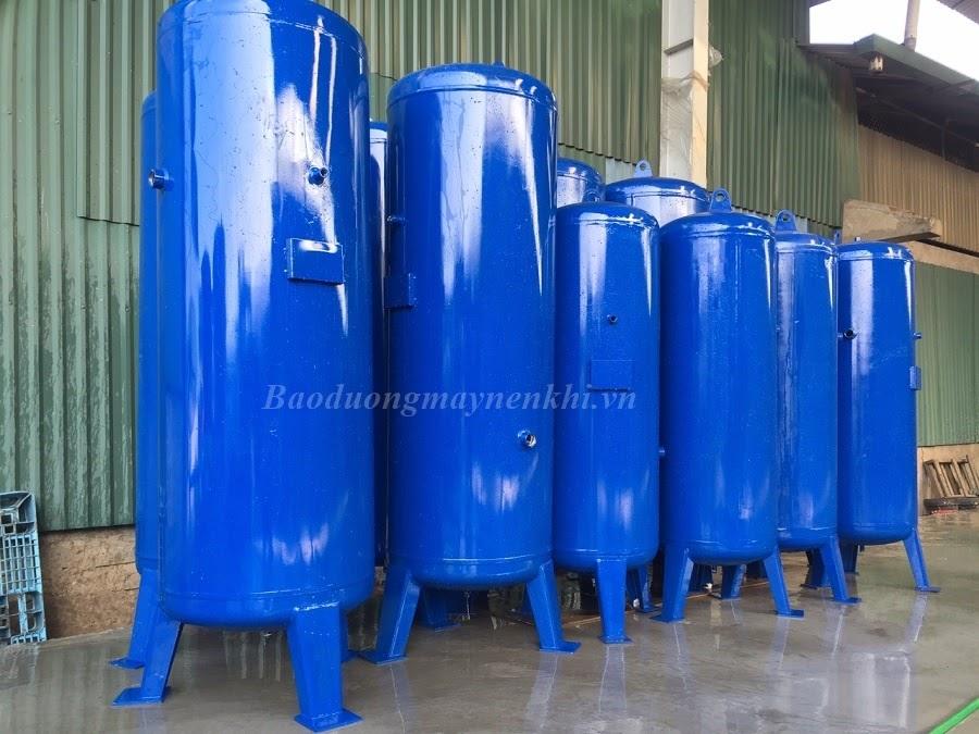 Bình chứa khí nén có chức năng tích trữ khí nén