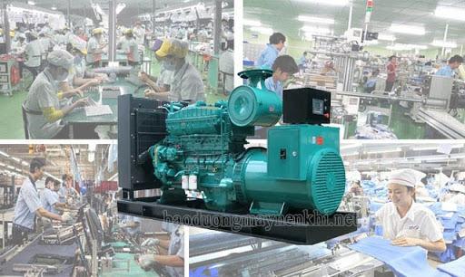 Máy phát điện xoay chiều được sử dụng rộng rãi trong sản xuất