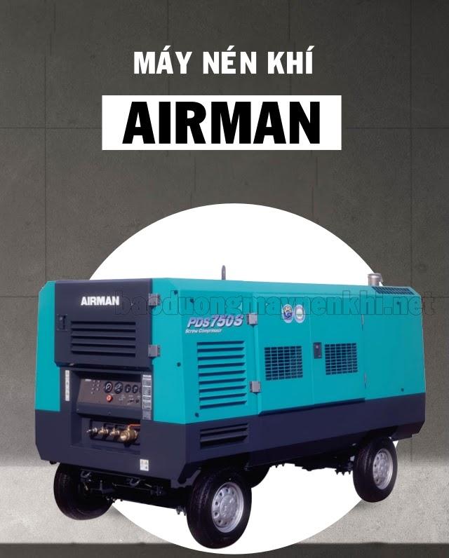 Máy nén không khí thương hiệu Airman