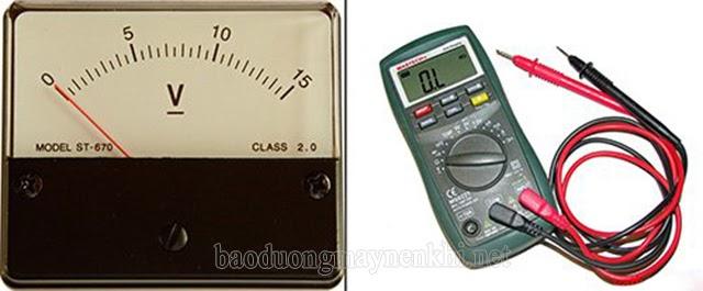 dụng cụ đo hiệu điện thế là gì