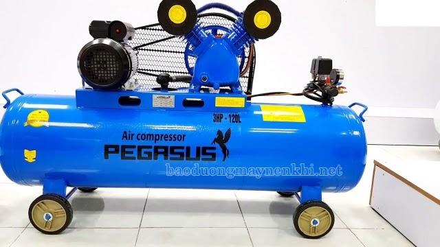 Máy nén khí piston pegasus 3hp 120l
