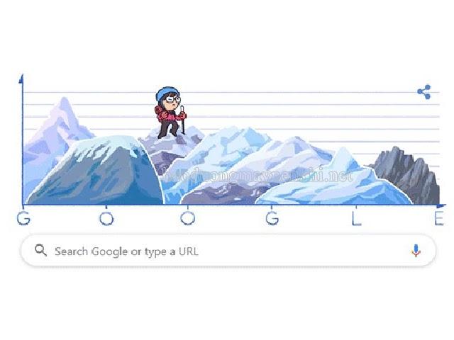 Google Doodle vinh danh Junko Tabei