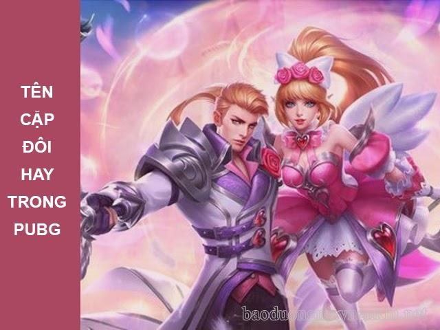 Tên cặp đôi hay trong game pubg