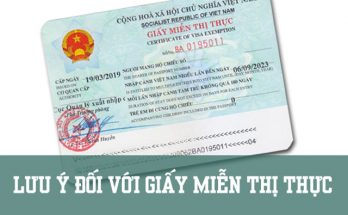 miễn thị thực là gì