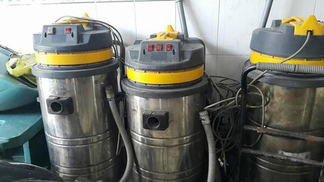 máy hút bụi công nghiệp đã qua sử dụng