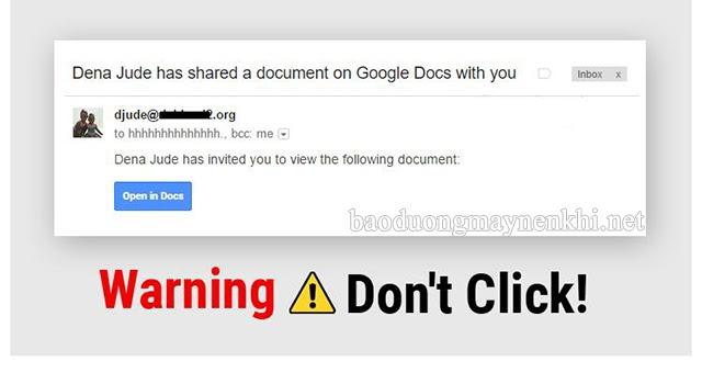 Cách chặn phishing email