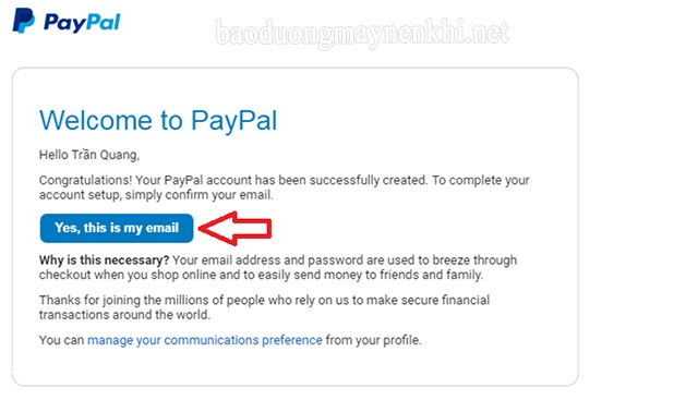 Cách xác minh tài khoản PayPal