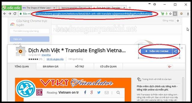 dịch đoạn văn tiếng anh bằng Viki Translator