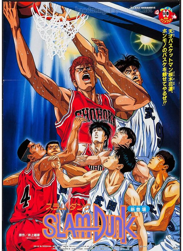 Slam Dunk Cao thủ bóng rổ