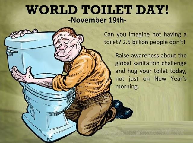 Ngày 19/11 - Ngày Toilet thế giới (World Toilet Day)