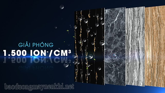 gạch ion âm