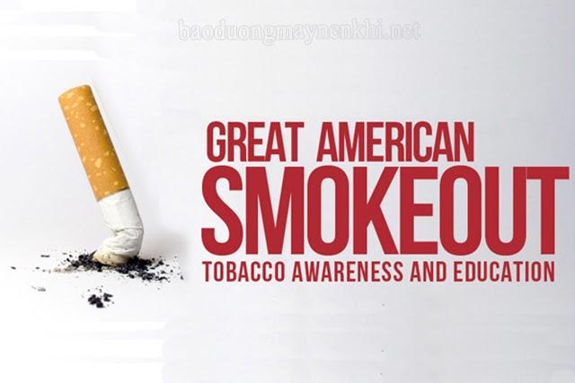 ngày toàn dân Mỹ không hút thuốc lá