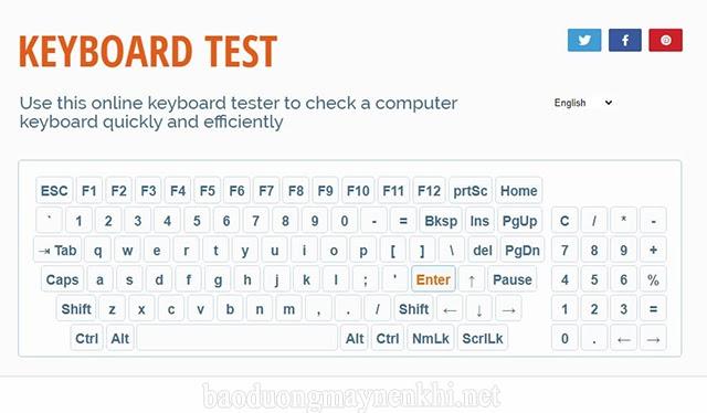 check keyboard