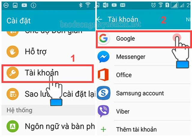 cách xóa tài khoản gmail trên điện thoại