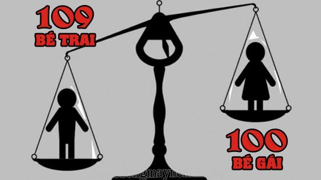 thực trạng mất cân bằng giới tính