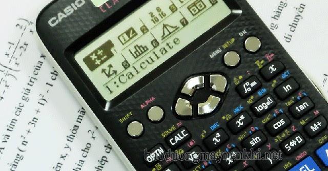 giải phương trình logarit bằng máy tính casio