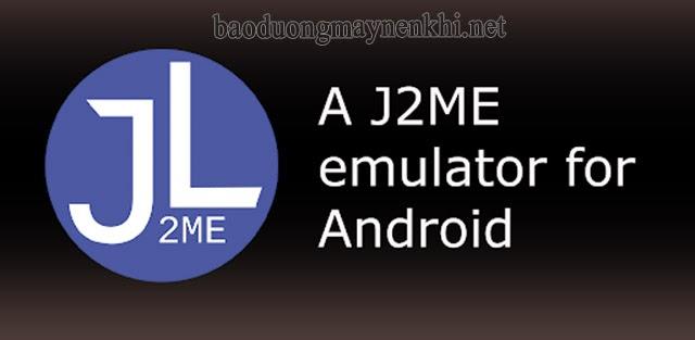 Phần mềm giả lập java - J2ME Loader